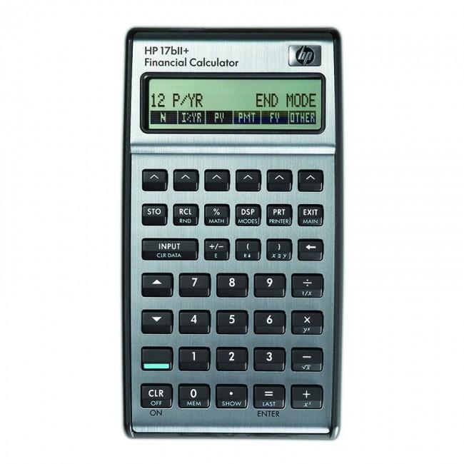 HEWLETT PACKARD 17bii Plus Business Calculator – Calculator Shop