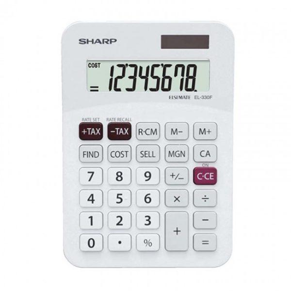 sharp-el-330f-el330ab-mini-desk-calculator
