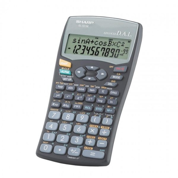 sharp-el531-wh-bk-scientific-calculator